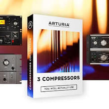 Arturia 3 Compressors (Win) Vst for producers beatmakers and Music production