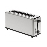 Toaster with Defrost Function Eurotec CD 30850A 1000W Stainless steel|Toasters|Home Appliances -