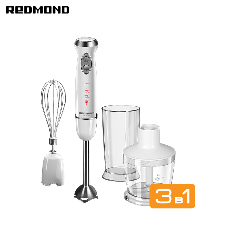 Blender Submersible REDMOND RHB-2972 Household Appliances For Kitchen For Smoothies