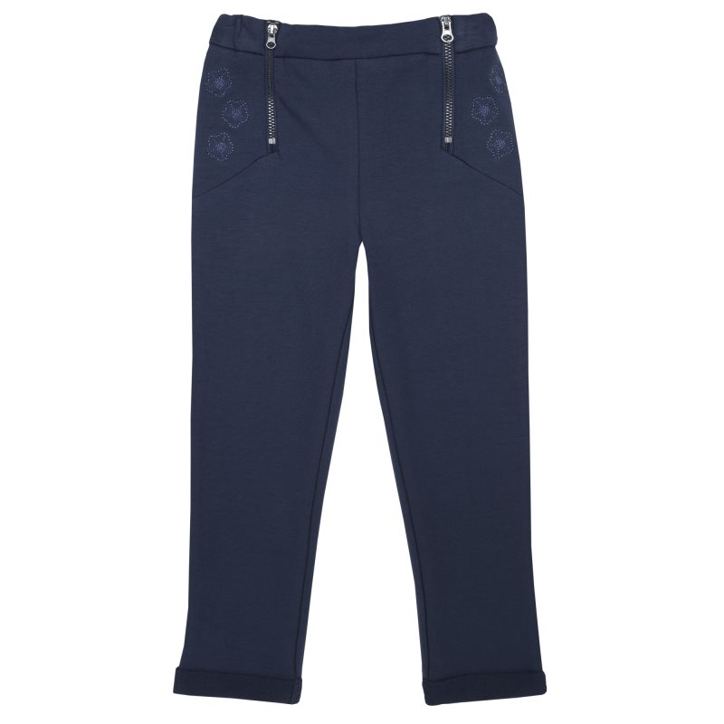 Фото - Pants stretch Chicco, size 098, color dark blue pants chicco size 098 color blue