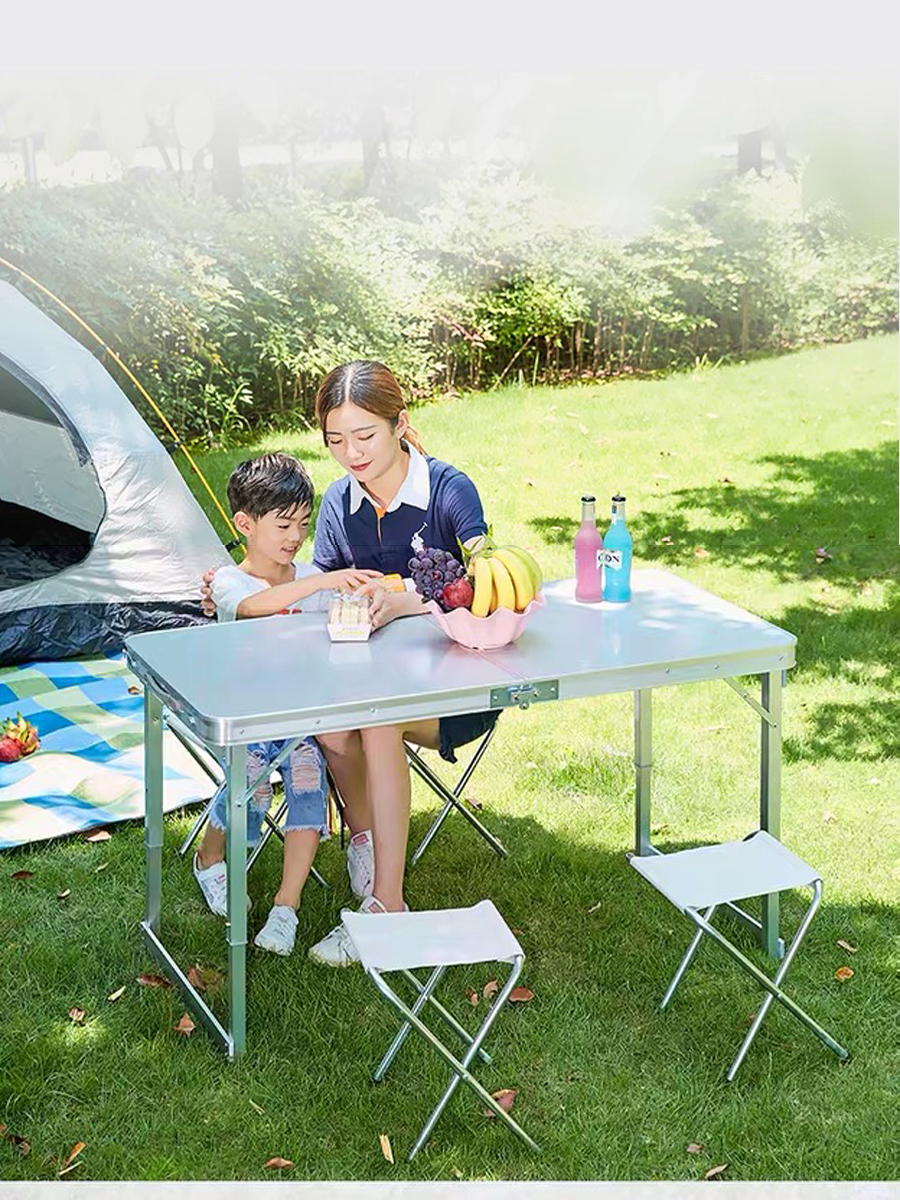 SOKOLTEC Table Folding Table Picnic, Camping Table OP2329