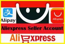 Compte de vendeur ALIEXPRESS, nouveau et complet vérifié avec KYC