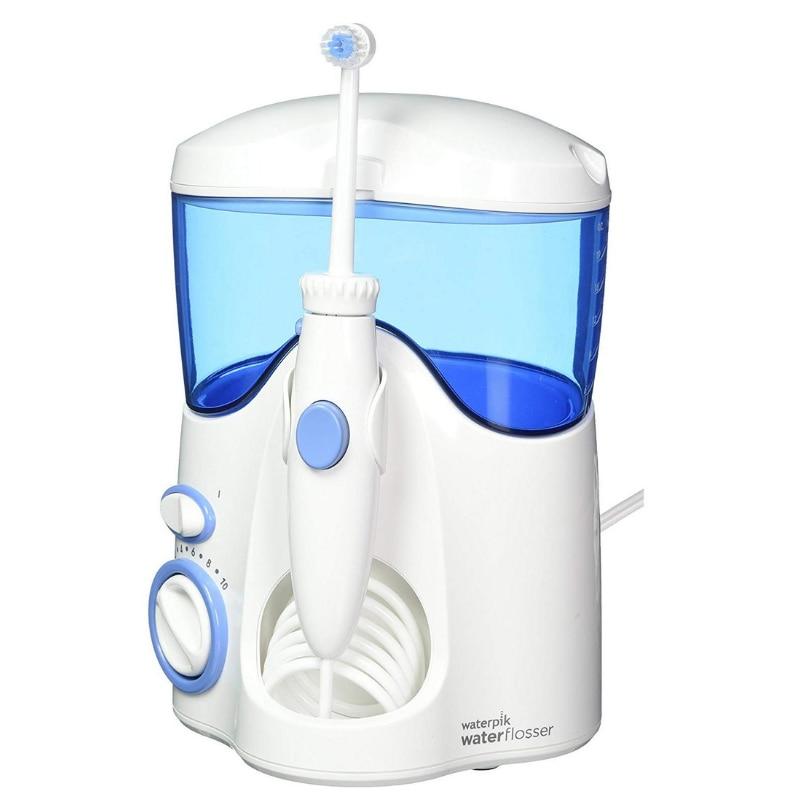 Waterpik WP-100 - Producto de cuidado dental, Azul/Blanco