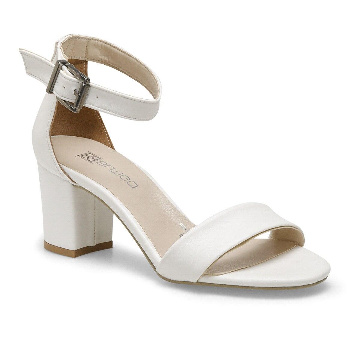 FLO S1100-19IY White Women Sandals BUTIGO