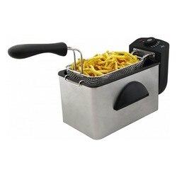 Deep-fat Fryer COMELEC FR3082 2 L 2000W Black Stainless steel