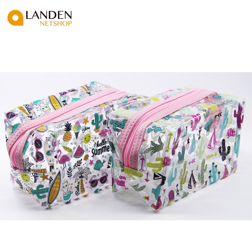 Make Up Bag Type Bag. To Girl And Woman.  Print Undershirt Amusing. Portable, Ideal For Travel