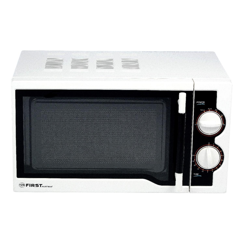 Микроволновая печь FIRST FA 5028 1 White (Мощность 700Вт объем камеры 17л 6 уровней нагрева