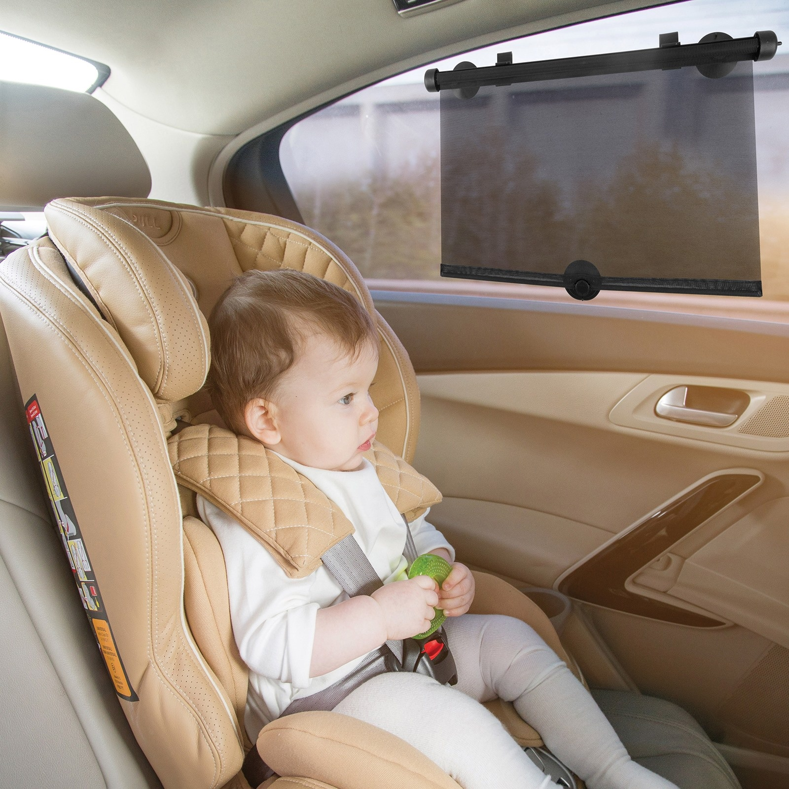 Ebebek Baby&plus Auto Side Window Curtain 2 Pcs