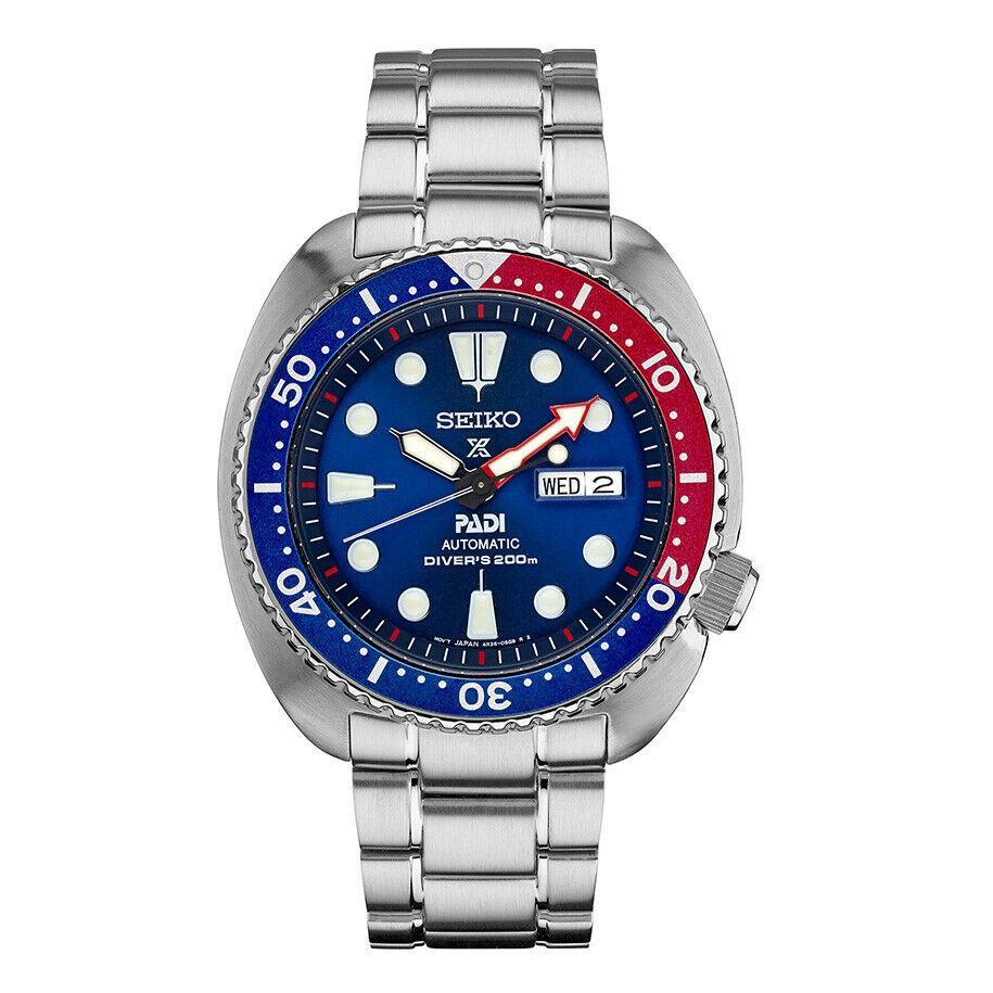 Мужские наручные часы Seiko Prospex Padi Diver SRPA21K1 Blue 45 мм| |   | АлиЭкспресс