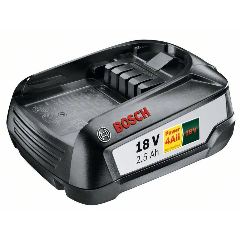 BOSCH-system Accessories 18 V Lithium PBA 18 V 2,5 Ah W-B