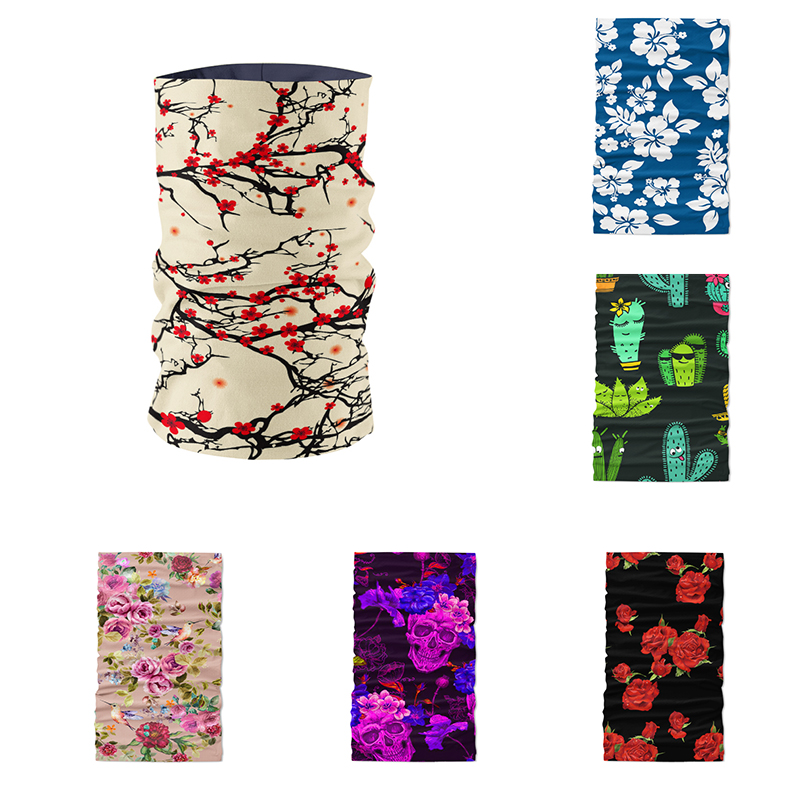 Tubular Masks Seamless Magic Multi Functional Scarf Cycling Bandana Women Male Outdoor Sports Camouflage Designer buffe