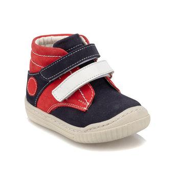FLO 92 511711 I granatowe męskie buty dziecięce Polaris tanie i dobre opinie ALLIGATOR Korka Chłopcy