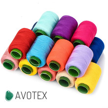 Free Shipping 300 Yards Household Thread Color Polyester Thread Clothing Sewing Thread Manual Stitching Group Knit Sewing Thread
