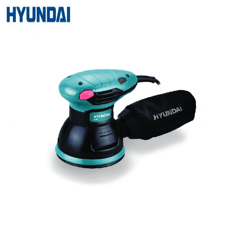 Eccentric Grinder HYUNDAI O 350  Grinding Polishing Sandpaper Air Tools Eccentric track Dust exhaust and dust canister eccentric spaces