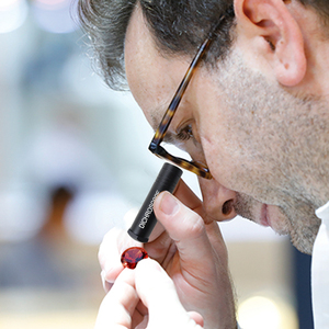 Image 3 - Dichroscope de calcite resistente handheld, gema trichoic & testes gemological das pedras preciosas, diâmetro do corpo 15mm do metal da ferramenta do joalheiro