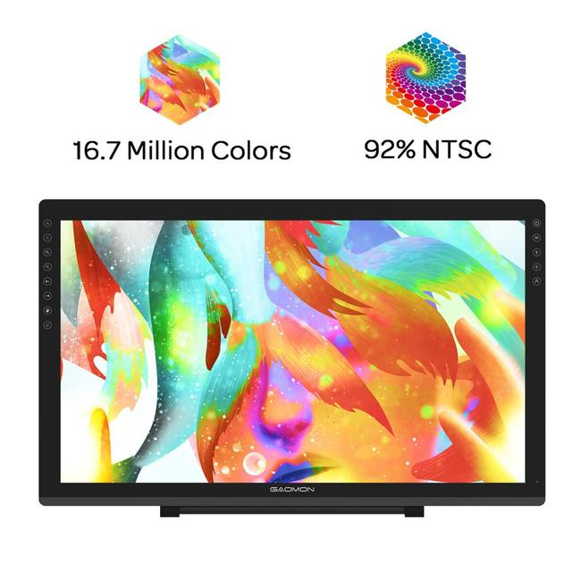GAOMON PD2200 21.5 Inches 92%NTSC Graphic Drawing Tablet  Monitor Pen display with Tilt-Support Battery-Free 8192 Pen Pressure
