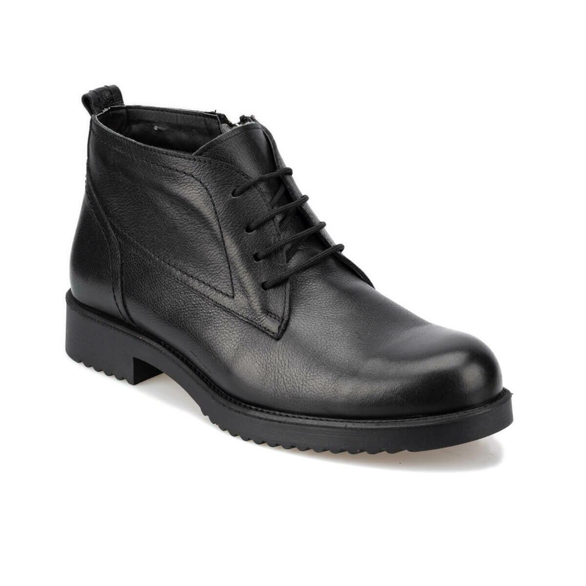 FLO 92.100934.M Black Men Boots Polaris 5 Point