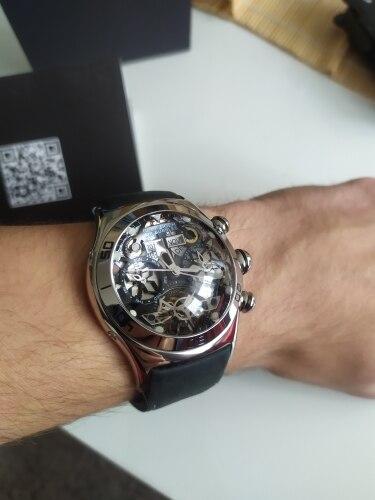 -- Relógios Esqueleto Automático