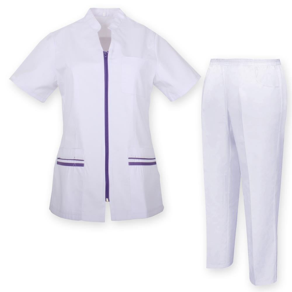JACKET And PANT WOMAN UNIFORMS Sanitaries MEDICAL UNIFORMS CLINICAS Aesthetic Medical Nursing JACKET And PANT Ref.7028