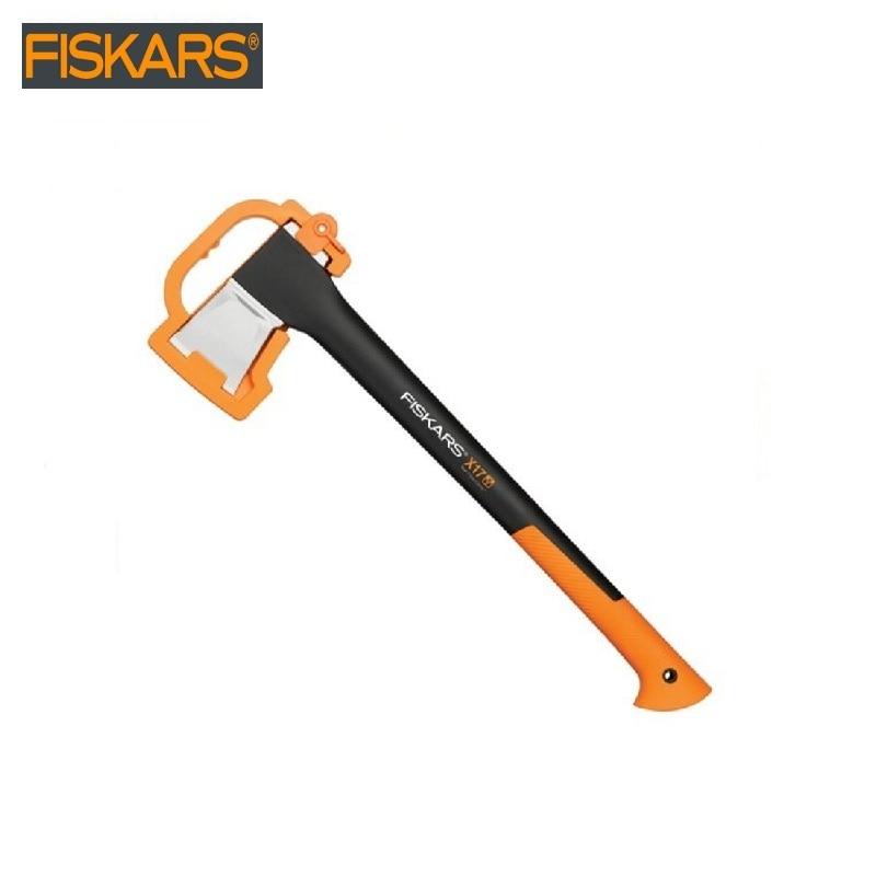 Pitch - hand Fiskars X17 L (1015641) heavy harvesting  Woodworking tools tomahawk dividing ax survival