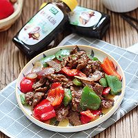 蚝油双椒牛肉的做法图解6