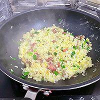什锦炒饭3(腊肠、肉丸等)的做法图解11