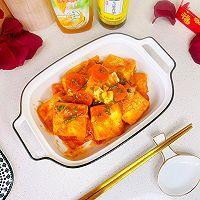 """#美食说出""""新年好""""#茄汁鸡蛋豆腐的做法图解16"""