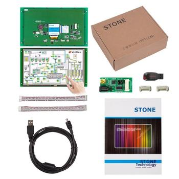 10.1 Open Frame Display LCD Module with Controller Board + Software for Equipment Control Panel printer control key board for hp 500 800 hp500 hp800 control panel assembly display