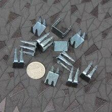 Clou en fer Non inversé pour la réparation des chaussures, triple clou à quatre pièces, Anti-vol, bricolage