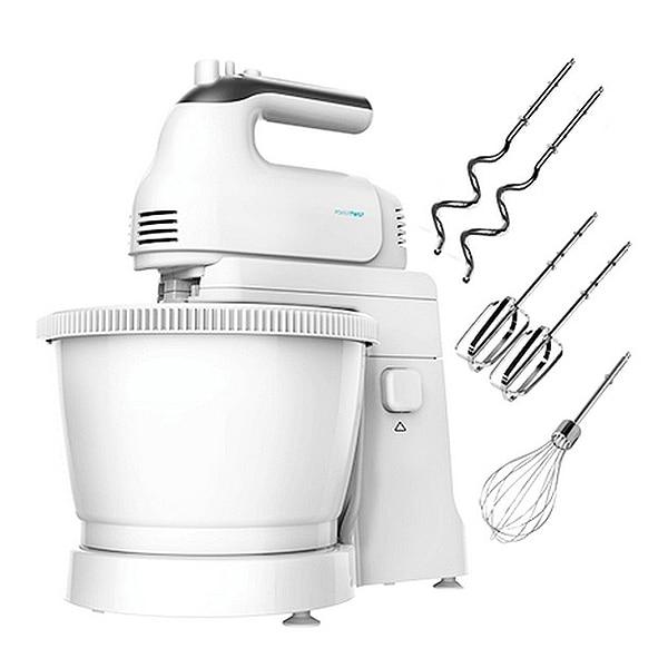 Batidora-Amasadora Cecotec PowerTwist Gyro 500W 3,5 L Blanco Grifos de cocina Frap, mezclador de cocina de acero inoxidable, grifo de cocina de un solo orificio, mezclador de fregadero, grifo de cocina Y40107