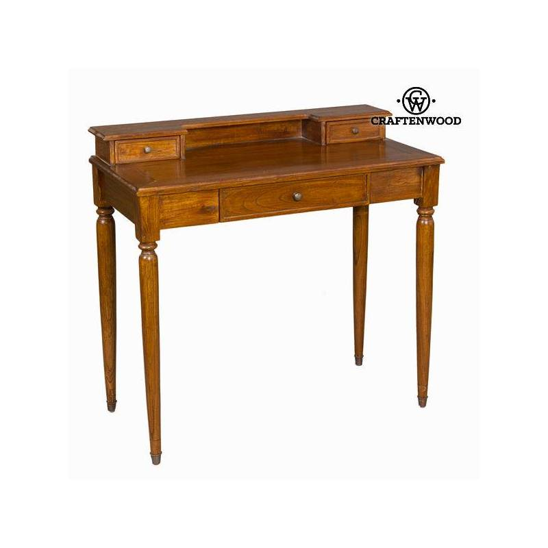 Desk Table Teak Wood (90x45x85 Cm)-The Collection Serious Line By Craftenwood