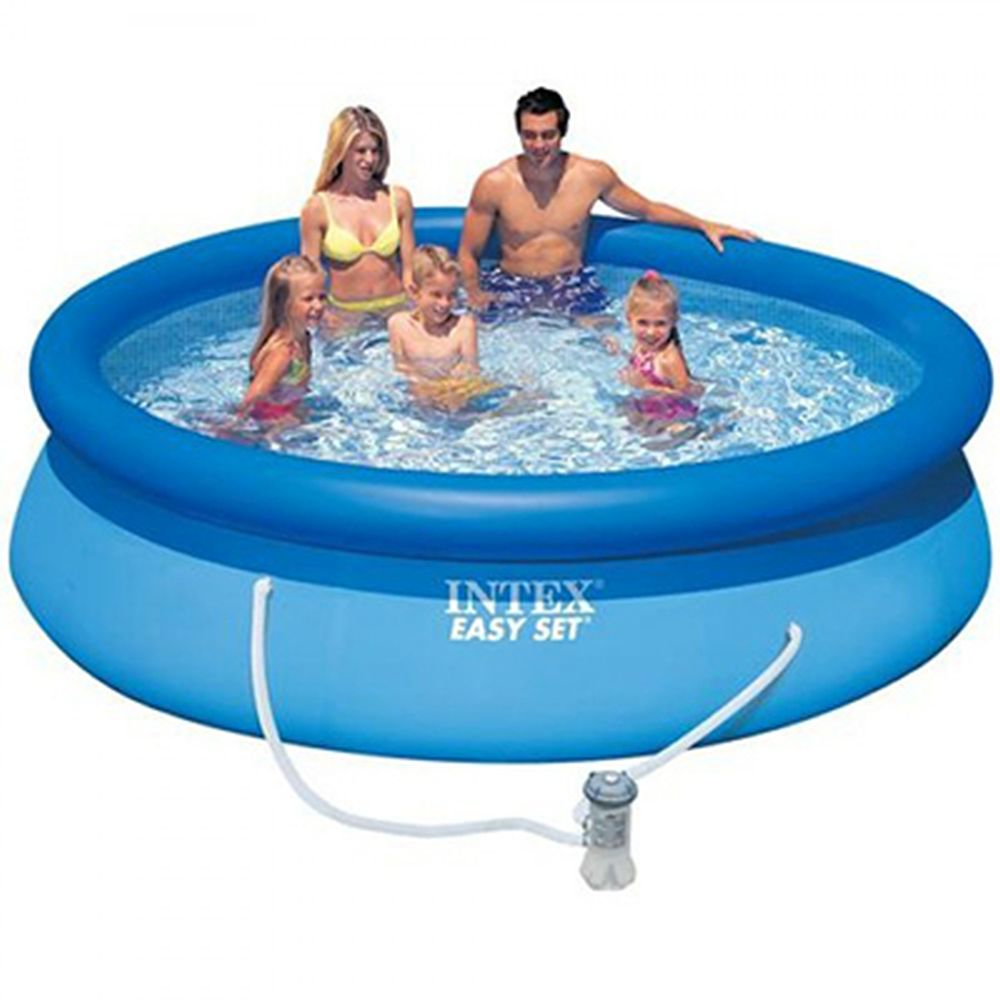 Intex Swimming Pool Inflatable Easy Set 305x76 Cm 3853л, Pump With Filter 1250л/H 28122