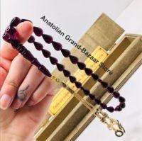 Islam Muslim rosary beads rosary bracelets for men and 33 amber rosary prayer accessories for men handmade stone turkey model 6