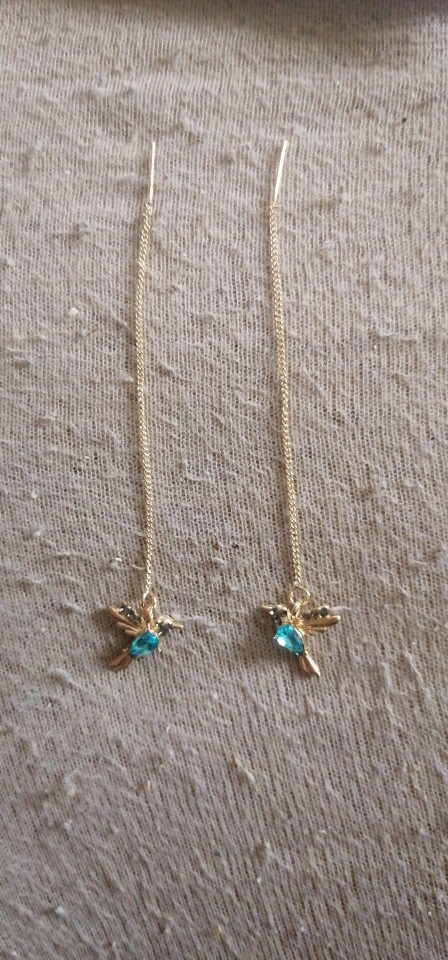 Little Bird Drop Long Hanging Earrings photo review