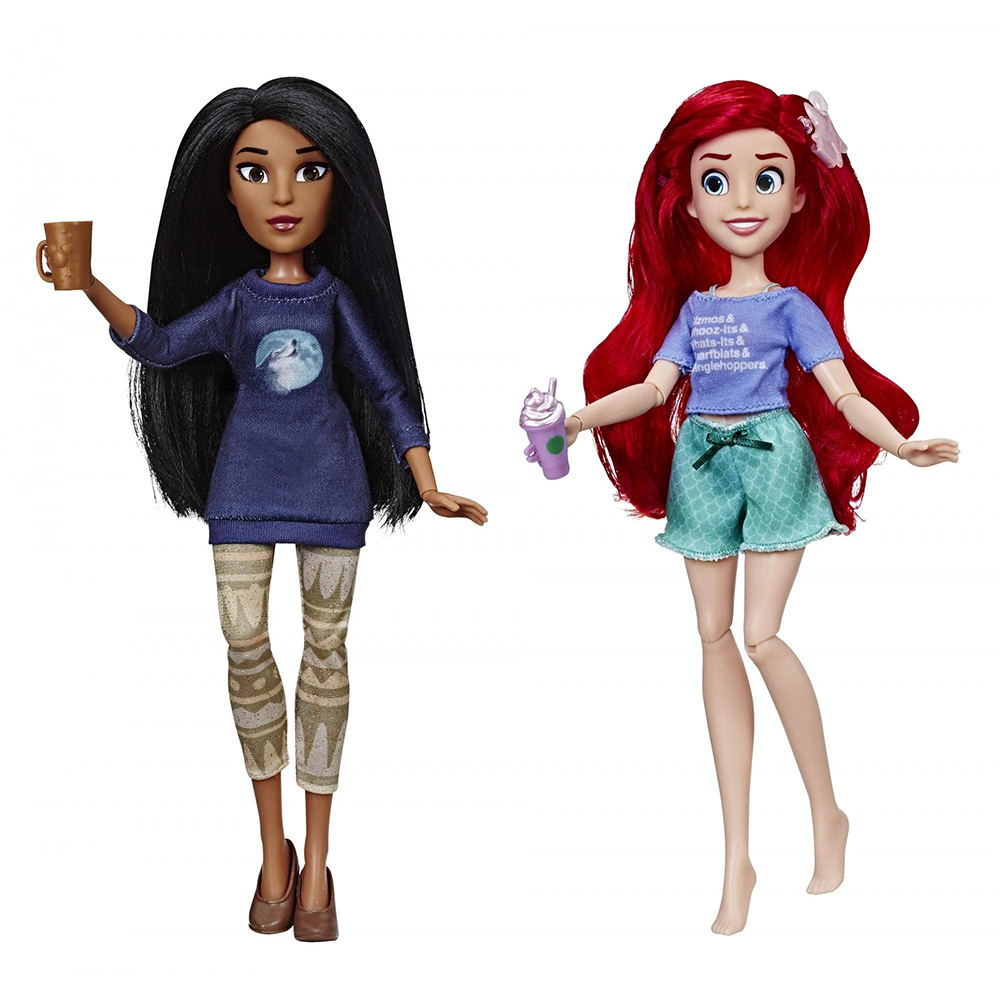 Game Set Disney Princess Ariel And Pocahontas-Ralph Against The Internet