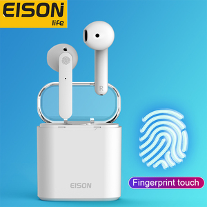 EISON HD Calling Bluetooth Earphones Hifi Sound Wireless Headphones Waterproof Noise Canceling Headset for xiaomi iphone phone