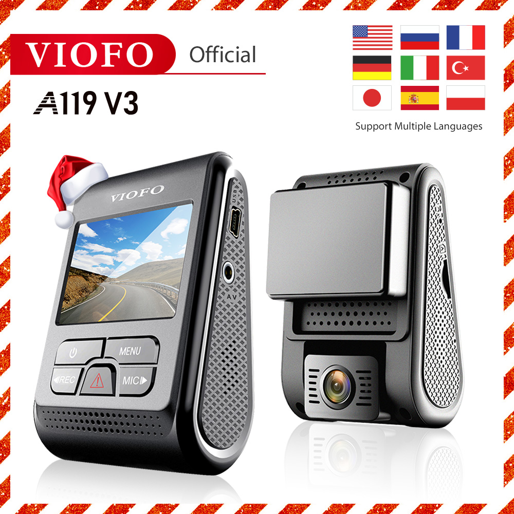 VIOFO A119 V3 Auto Dash Cam Auto DVR Upgrated 2019 Neueste Version super nachtsicht neueste auto cam 2560*1600P 30fps optional GPS