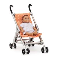 Doll House Accessories Lundby Play Set House stroller with doll for children toys for kids game furniture dolls doll houses furniture for doll houses bed for dolls accessories