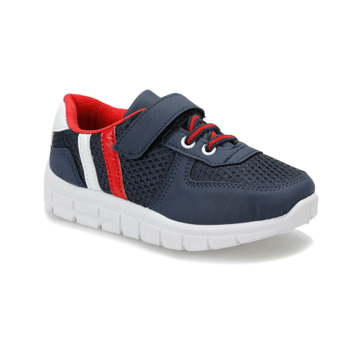 FLO DEMBA Y Navy Blue Male Child Sneaker Shoes I-Cool