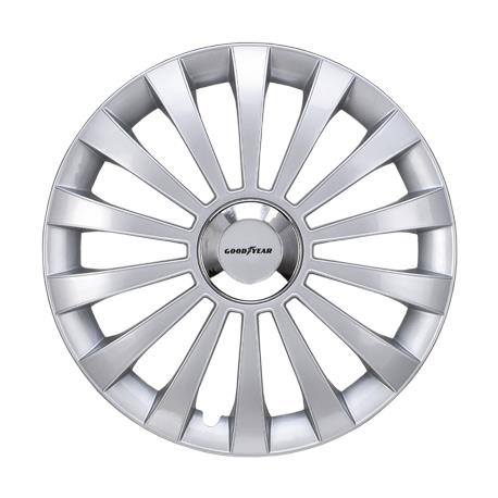 Game Hubcap Good Year Flexo 30 Silver 14""