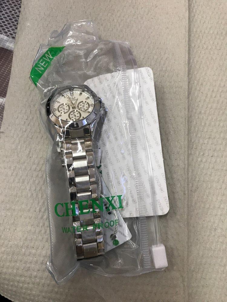 CHENXI 019A Women Fashion Luxury Watches Women's Quartz Wristwatches  Ladies Luxury Rhinestone Dial Clock Waterproof Reloj Mujer photo review