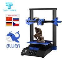 TWOTREES 3D Printer Bluer 230*230*280 High Precision Upgrad Printer DIY Resume Power Failure BMG Extrusion Kit Hotbed I3 Printer