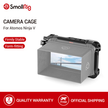 """SmallRig Form fitting Cage for Atomos Ninja V 5"""" 4K HDMI Recording Monitor Cage With Built in NATO Rails HDMI Cable Clamp  2209"""