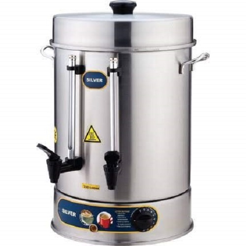 TEMP CONTROL - 400 CUP CAPACITY- Commercial  Electric Hot Water Turkish Tea / Coffee Maker Brewer Brewing Machine Urn Percolator