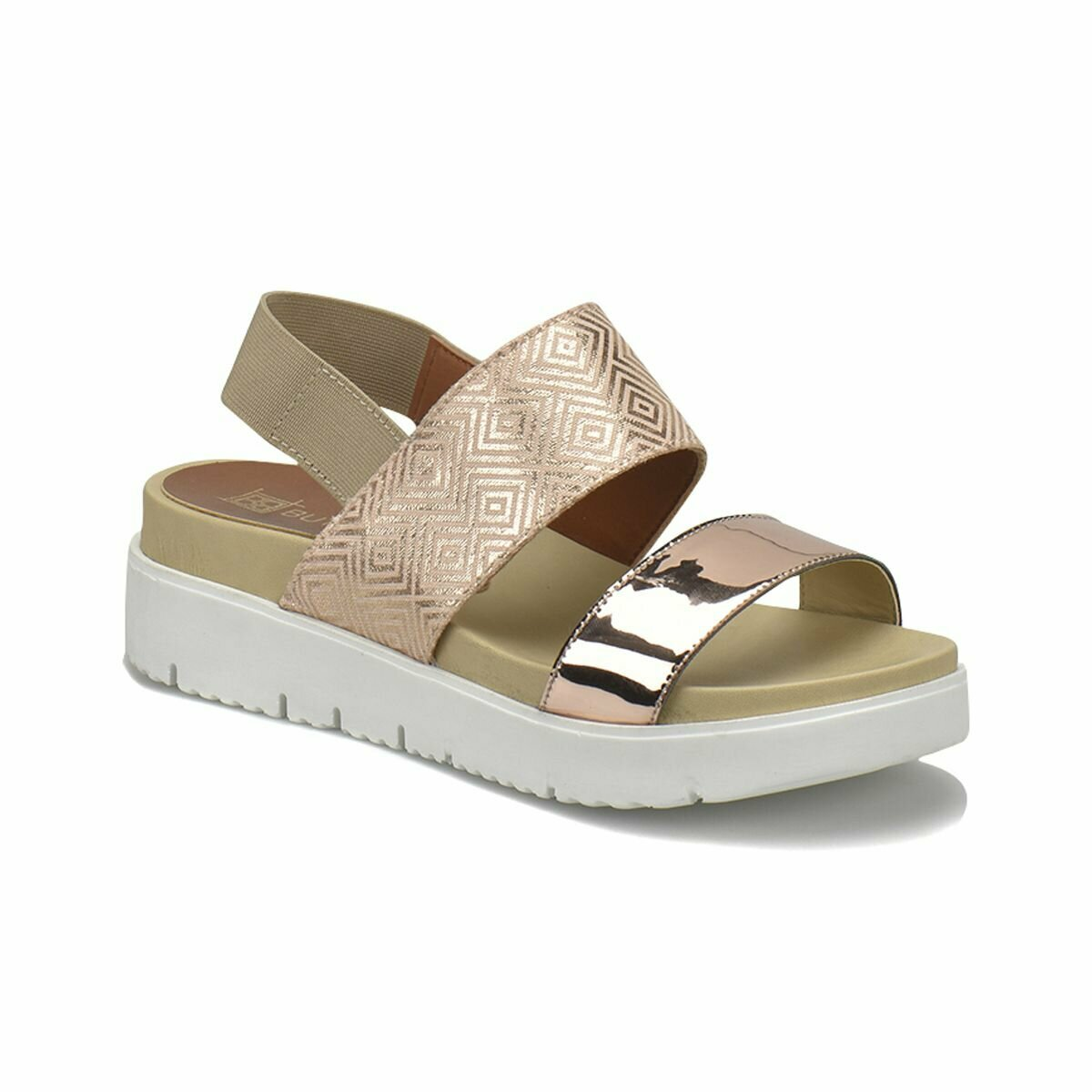 FLO 18S-247 Gold Women 'S Shoes BUTIGO