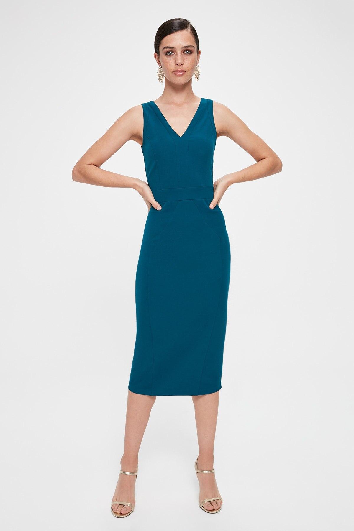 Trendyol Slits Dress TPRAW20EL1878