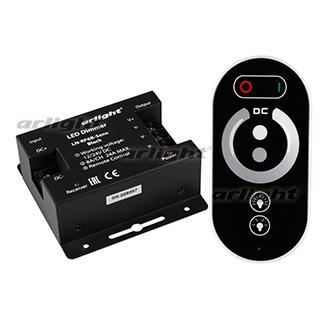 023377 Dimmer LN-RF6B-Sens Black (12-24 V, 3x8A) ARLIGHT 1-pc