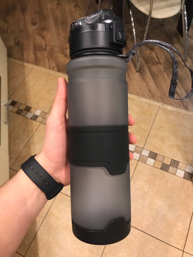 Water Bottle Large Sports Protein Shaker Outdoor Travel Portable Leakproof Tritan plastic Large Capacity Drink Bottle BPA Free|Water Bottles|   - AliExpress