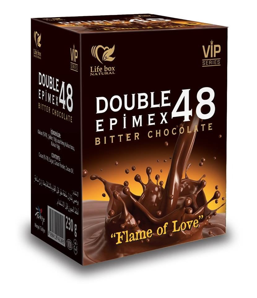 Life Box Double Epimex Aphrodisiac Epimedium With Chocolate – Turkish Macun, 230gr