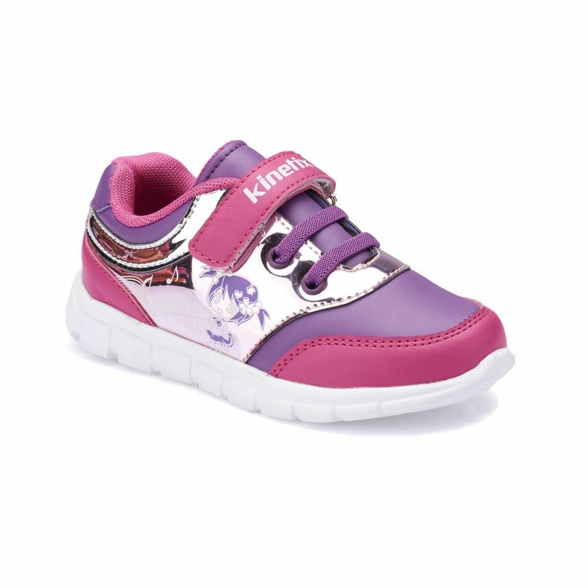 FLO KYLIE Purple Female Child Running Shoes KINETIX